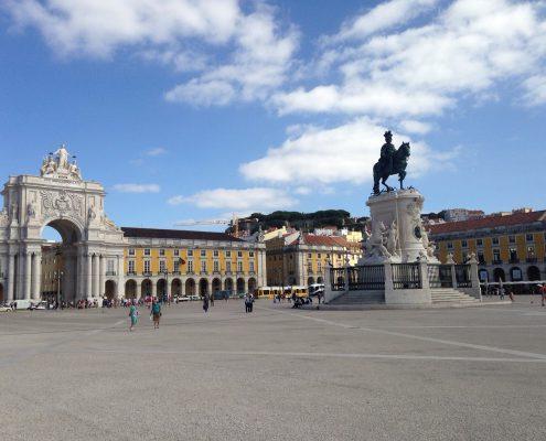 Angie Erleben in Lissabon