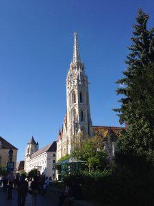 Angie Erleben in Budapest Matthiaskirche