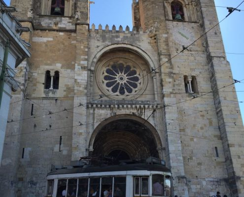 Angie Erleben in Lissabon - Catedral Sé Patriarcal