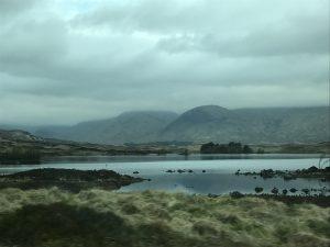 Angie Erleben in Schottland Highlands