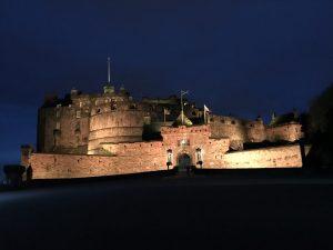Angie Erleben in Edinburgh Castle