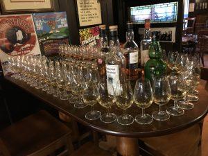 Angie Erleben in Edinburgh Whiskytasting
