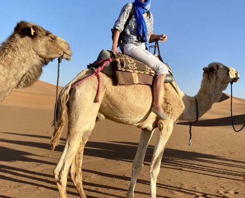Marokko - Karawane in der Wüste