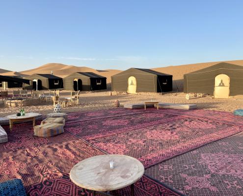 Marokko - Wüsten-Camp