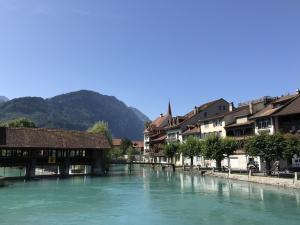 Idylle in Interlaken, Schweizer Berner Oberland