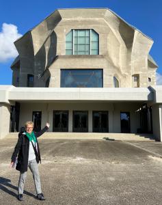Goetheanum in Dornach, Schweiz